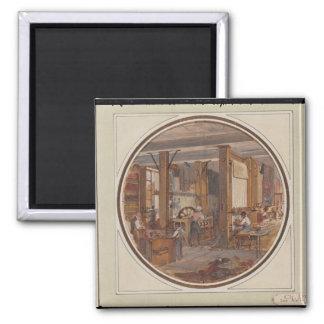 Gobelinsの研修会1840年 マグネット