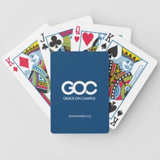 GOCカード(あなたの背景を選んで下さい) バイスクルトランプ