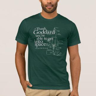 Goddardを感謝していして下さい Tシャツ