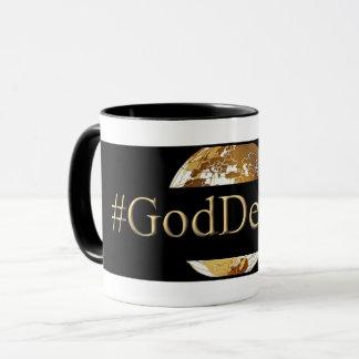 #GODDEEPER (TM)の黒11のozのコンボのマグ マグカップ
