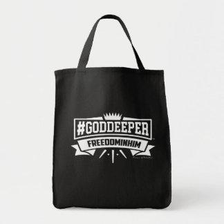 #GODDEEPER (TM) -彼の自由予算のトートバック トートバッグ
