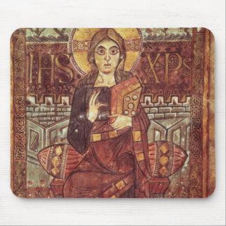 Godescaからの皇族のNAL 1203 fol.3キリスト、 マウスパッド