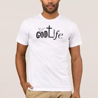 GodLife®のアメリカ人のApparel™のメンズによって決め付けられるティー Tシャツ