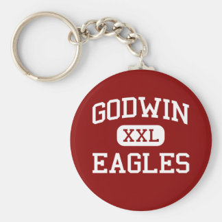 Godwin -イーグルス-高等学校-リッチモンドヴァージニア キーホルダー