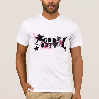Godzによるロゴの身体傷害は限りました Tシャツ