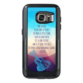 Goetheは毎日の焦点について話します オッターボックスSamsung Galaxy S7ケース