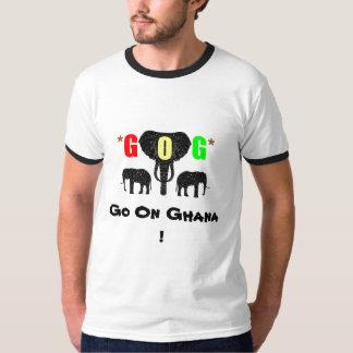 GOGはガーナで、行きます! Tシャツ