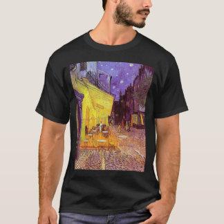 gogh4 gogh4ゴッホヴィンチェンツォウィレムvan cafのterasse tシャツ