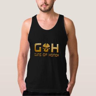 GOHの金スカル タンクトップ