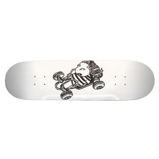 Gokartの漫画のスケートボード スケートボード