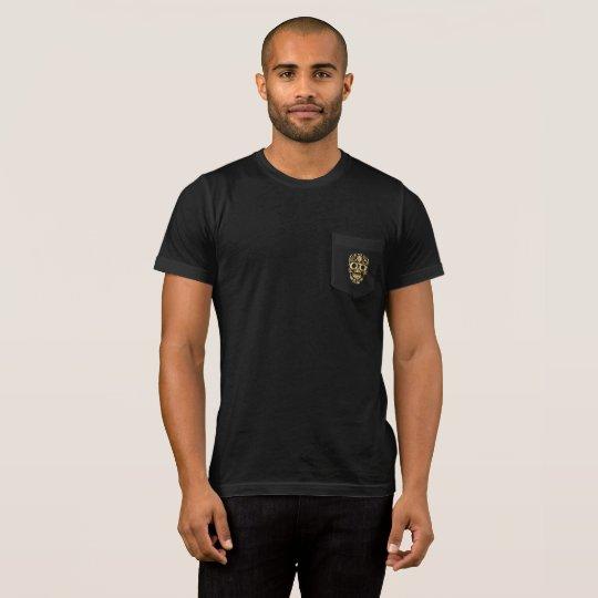 Gold Sugar Skull Tシャツ