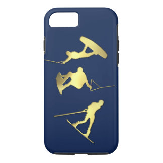 Gold Wakeboarders iPhone/iPad Case iPhone 8/7ケース
