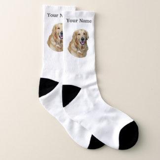 Golden labrador dog ソックス