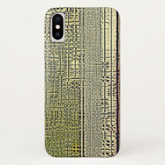 Golden Panes iPhone X ケース