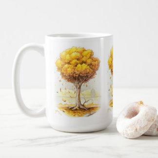 Golden Tranquility コーヒーマグカップ
