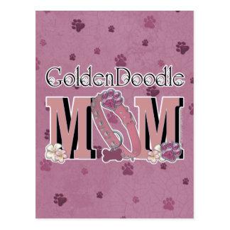GoldenDoodleのお母さん ポストカード