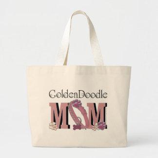 GoldenDoodleのお母さん ラージトートバッグ