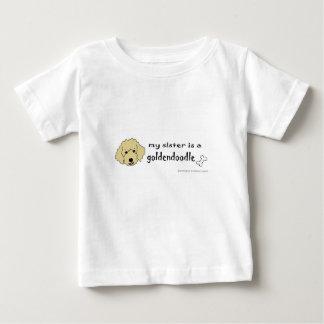 goldendoodle -多くは繁殖します ベビーTシャツ