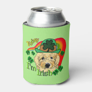 Goldendoodle St patricks dayのギフト 缶クーラー