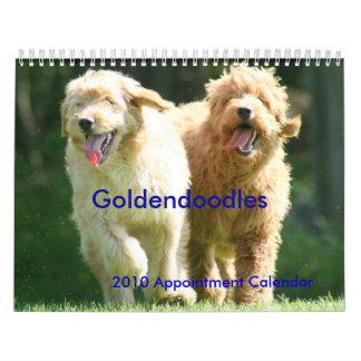 Goldendoodles カレンダー