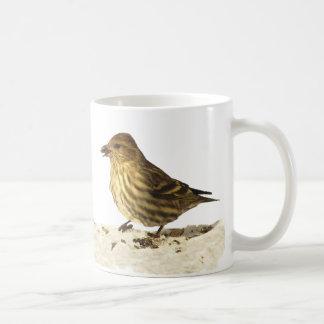 GoldfinchおよびマツSiskin コーヒーマグカップ