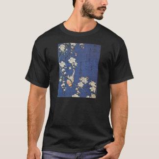 Goldfinchおよび桜、Katsushika H著c.1834 Tシャツ