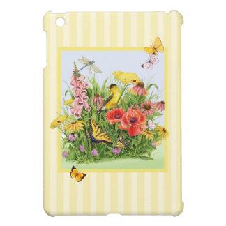 Goldfinchの庭 iPad Miniケース