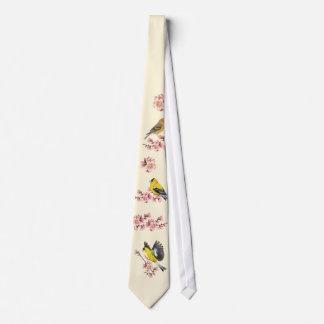 Goldfinchの桜のタイ オリジナルタイ
