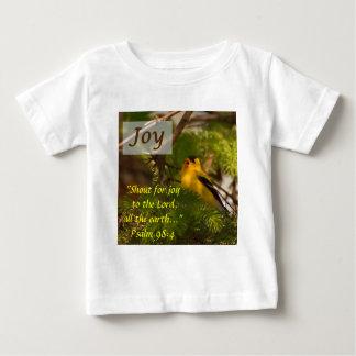 Goldfinchの歌うこと-喜び ベビーTシャツ