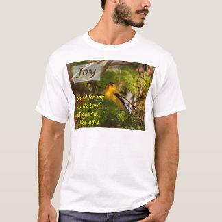 Goldfinchの歌うこと-喜び Tシャツ