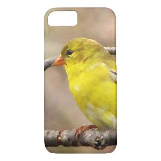 Goldfinchの鳥のiPhone 7の場合 iPhone 8/7ケース