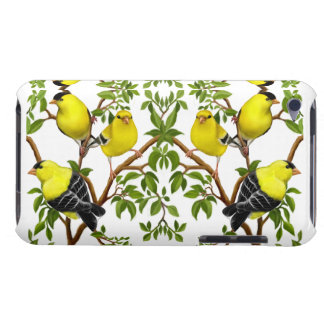 Goldfinchの鳥ipod touchの群は包装します Case-Mate iPod touch ケース
