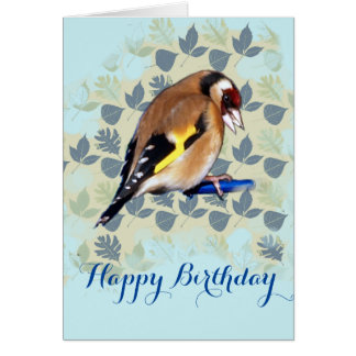 Goldfinch、ハッピーバースデーカード カード