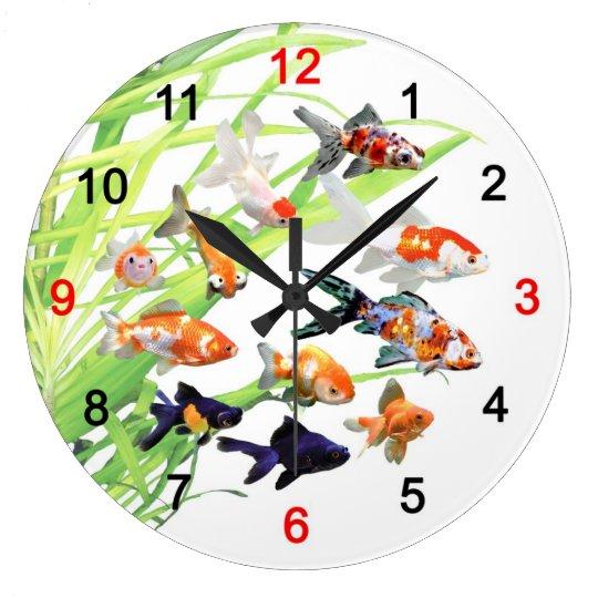 Goldfishの掛け時計 ラージ壁時計