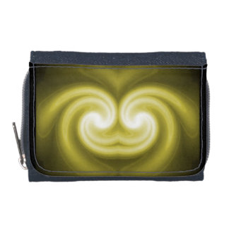 GoldHart™のデニムの財布w/Coinの財布 ウォレット