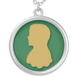 Goldilocksはネックレスを設計します シルバープレートネックレス