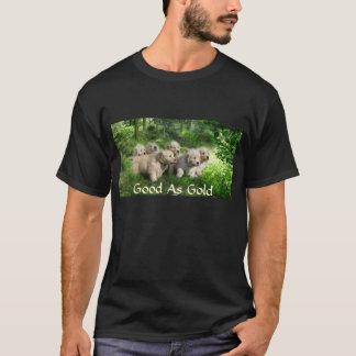 GoldTワイシャツとしてよいゴールデン・リトリーバー Tシャツ