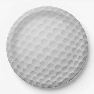 Golf Ball Design Paper Party Plate ペーパープレート