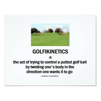 Golfikinetics カード