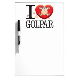Golpar愛人 ホワイトボード