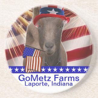 GoMetzはLaporteのインディアナ2013の愛国心が強いヤギを耕作します コースター