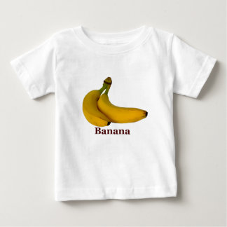 Goninのバナナ ベビーTシャツ