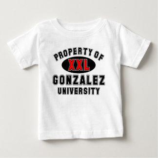 Gonzalez大学の特性 ベビーTシャツ