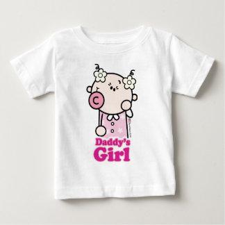 GoochiCoo -お父さんの女の子 ベビーTシャツ