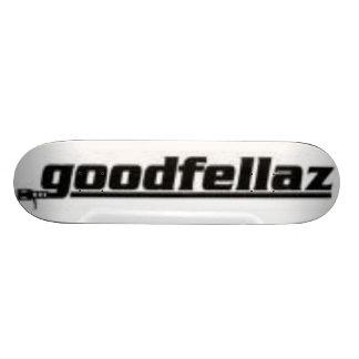 goodfellazのロゴのスケート板 18.7cm ミニスケートボードデッキ