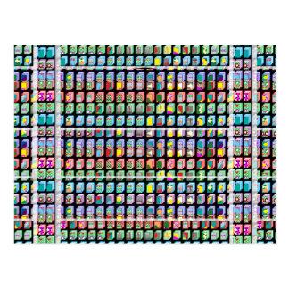 Goodluckのミニチュア芸術のギフト ポストカード