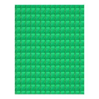 Goodluck緑の水晶パターンは文字のイメージJPGを加えます レターヘッド