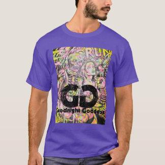 Goodnight女神-喜劇的なワイシャツ Tシャツ