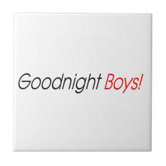 Goodnight男の子! タイル