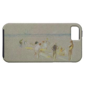 Goodwinの砂(チョーク、w/c及びbodycolのコオロギ iPhone SE/5/5s ケース